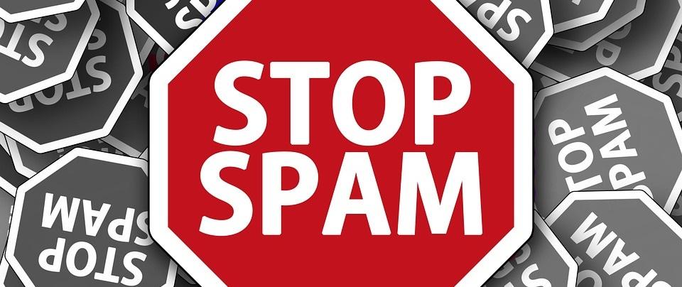 Begin niet aan webspam